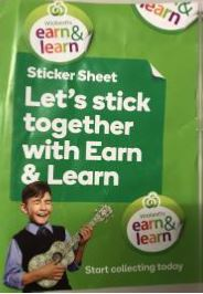 Earn & Learn Stickers